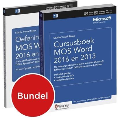 Afbeeldingen van Cursusboek MOS Word 2016 en 2013 / Oefeningenbundel MOS Word 2016 en 2013
