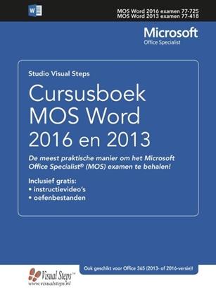 Afbeeldingen van Cursusboek MOS Word 2013 Basis