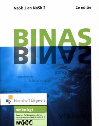 Afbeeldingen van Binas Nask1 en nask2 vmbo-kgt informatieboek