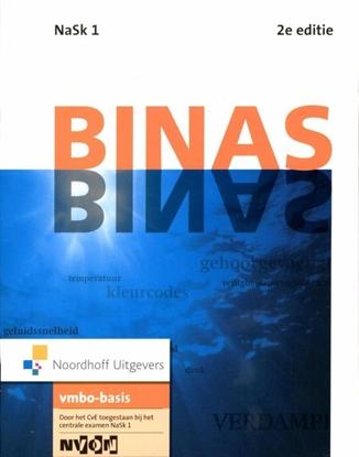Afbeeldingen van Binas Nask 1 vmbo-basis Informatieboek