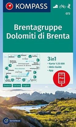 Afbeeldingen van Dolomiti di Brenta, Brentagruppe 1 : 25 000