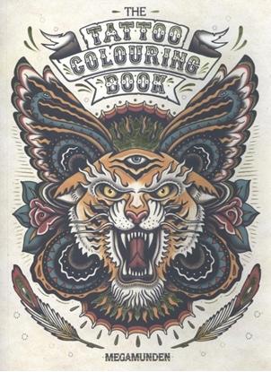 Afbeeldingen van The Tattoo Colouring Book