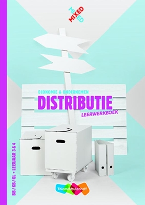 Afbeeldingen van Mixed Distributie BB/KB/GL Leerjaar 3&4 Leerwerkboek