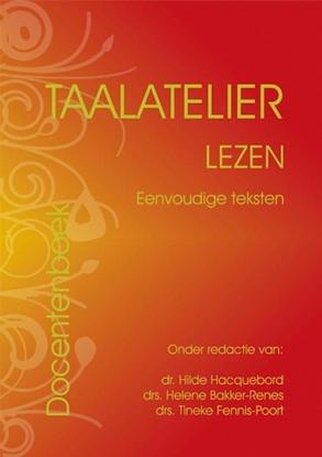 Afbeeldingen van Taalatelier Eenvoudige teksten Docentboek