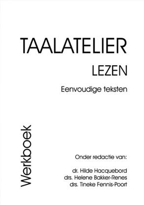 Afbeeldingen van Taalatelier Eenvoudige teksten Werboek
