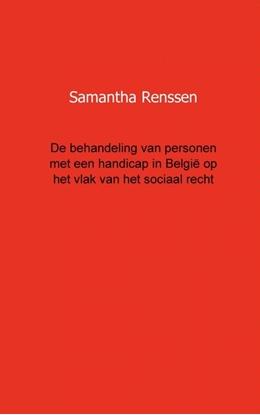 Afbeeldingen van De behandeling van personen met een handicap in Belgie op het vlak van het sociaal recht