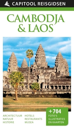 Afbeeldingen van Capitool reisgidsen Cambodja & Laos