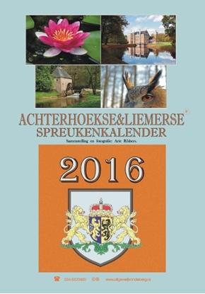 Afbeeldingen van Achterhoekse & Liemerse spreukenkalender 2016