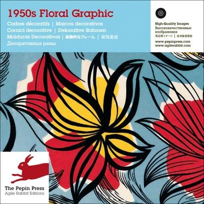 Afbeeldingen van 1950s Floral graphic
