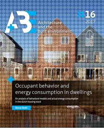 Afbeeldingen van A+BE Architecture and the Built Environment Occupant behavior and energy consumption in dwellings