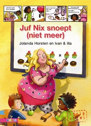 Afbeeldingen van AVI strip Juf Nix snoept (niet meer)