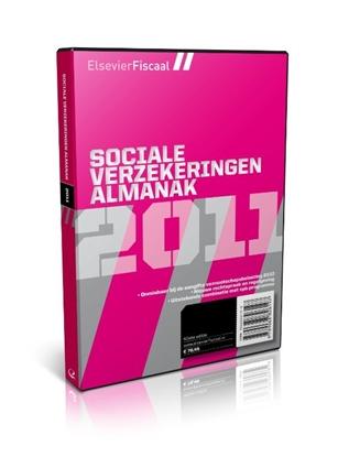 Afbeeldingen van Elsevier Fiscaal Sociale verzekeringen almanak + archief