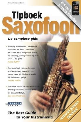 Afbeeldingen van Tipboek Saxofoon