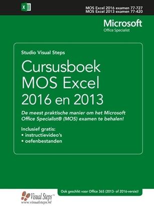 Afbeeldingen van Cursusboek MOS Excel 2016 en 2013 Basis