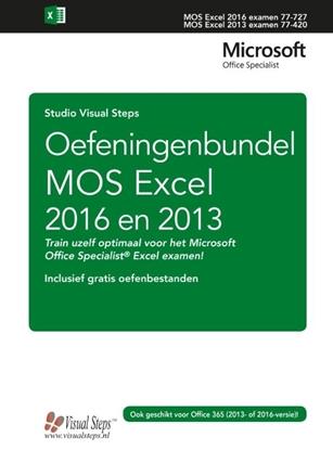 Afbeeldingen van Oefeningenbundel MOS Excel 2016 en 2013 basis