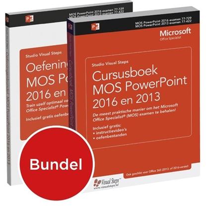Afbeeldingen van Cursusboek MOS PowerPoint 2013 + extra oefeningen