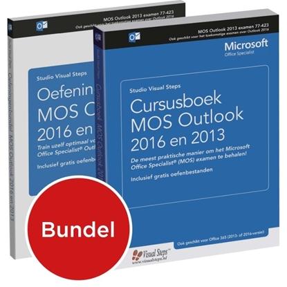 Afbeeldingen van Cursusboek MOS Outlook 2013 en 2016