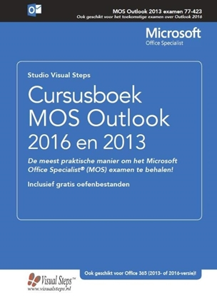Afbeeldingen van Cursusboek MOS Outlook 2016 en 2013