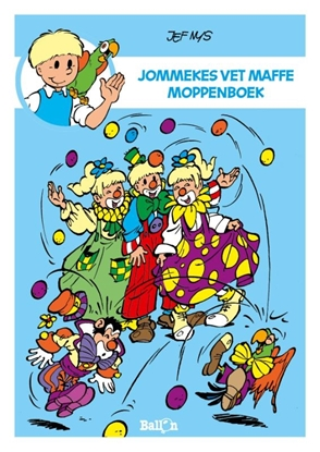 Afbeeldingen van Jommeke moppenboeken Jommekes vet maffe moppenboek
