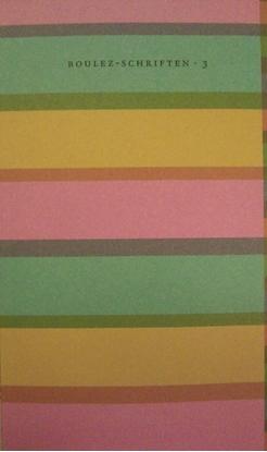 Afbeeldingen van Boulez-schriften Pierre Boulez over Franse componisten