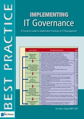 Afbeeldingen van Implementing IT governance