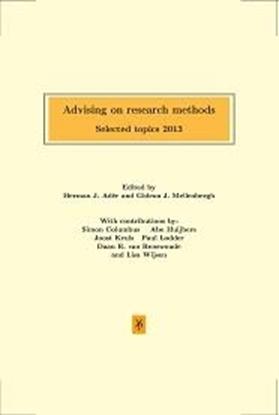 Afbeeldingen van Advising on research methods