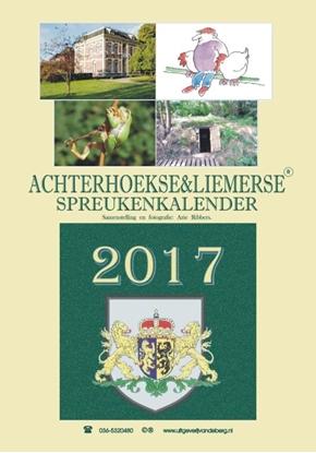 Afbeeldingen van Achterhoekse & Liemerse spreukenkalender 2017