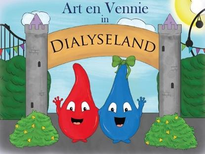 Afbeeldingen van Art en Vennie in Dialyseland