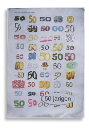 Afbeeldingen van 50 jarigen