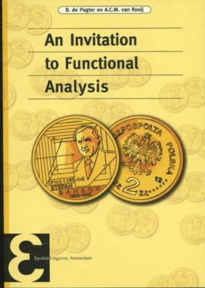 Afbeeldingen van Epsilon uitgaven An invitation to functional analysis