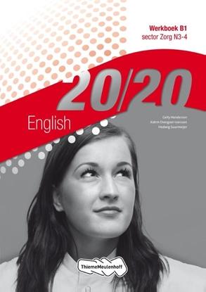 Afbeeldingen van 20/20 English sector Zorg N3-4 Werkboek B1