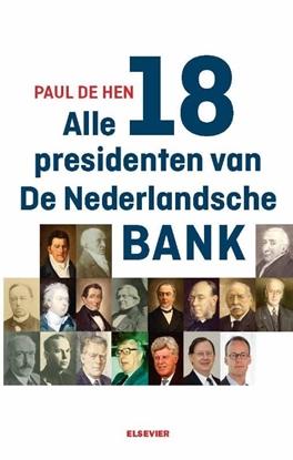 Afbeeldingen van Alle 19 presidenten van De Nederlandsche Bank