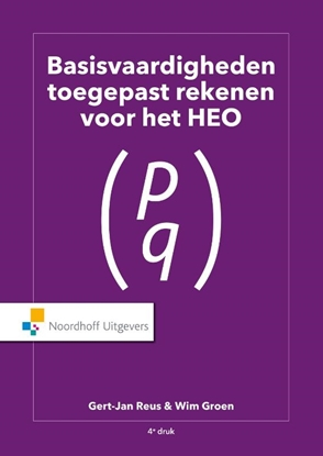 Afbeeldingen van Basisvaardigheden Toegepast Rekenen voor het HEO