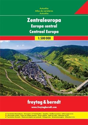 Afbeeldingen van Centraal Europa Wegenatlas F&B