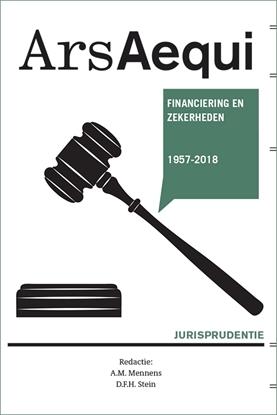 Afbeeldingen van Ars Aequi Jurisprudentie Jurisprudentie Financiering en zekerheden 1957-2018
