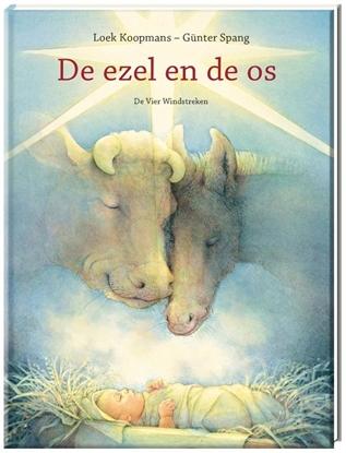 Afbeeldingen van De ezel en de os