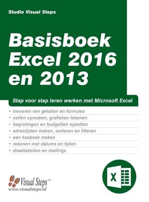 Afbeeldingen van Basisboek Excel 2016 en 2013