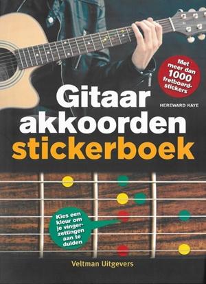 Afbeeldingen van Gitaarakkoorden stickerboek