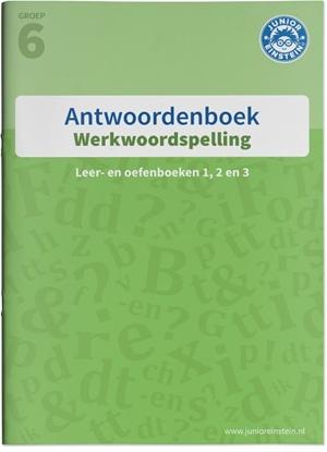Afbeeldingen van Werkwoordspelling antwoorden Leer- en oefenboeken 1, 2 en 3 groep 6