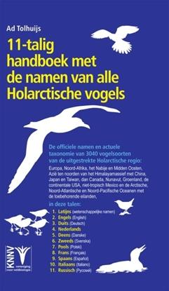 Afbeeldingen van 11-talig handboek met de namen van alle Holarctische vogels