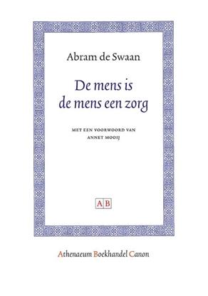 Afbeeldingen van Athenaeum Boekhandel Canon De mens is de mens een zorg