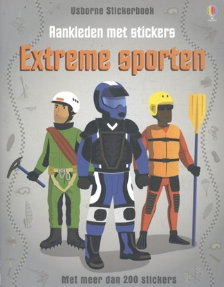 Afbeeldingen van Aankleden met stickers - Extreme sporten