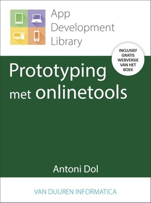 Afbeeldingen van App Development Library Prototyping met onlinetools