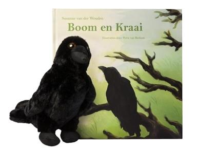 Afbeeldingen van Boom en Kraai inclusief pluche kraai