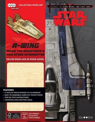 Afbeeldingen van A-wing Deluxe Boek met houtmodel