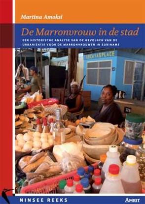 Afbeeldingen van De Marronvrouw in de stad