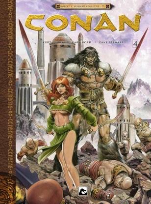 Afbeeldingen van Conan De god in de schaal