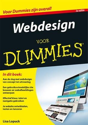 Afbeeldingen van Voor Dummies Webdesign voor Dummies