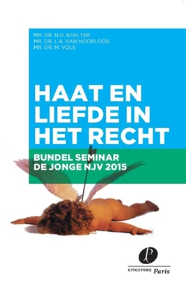 Afbeeldingen van Congresbundel de Jonge Nederlandse Juristenvereniging 2015