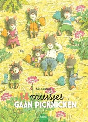 Afbeeldingen van 14 muisjes gaan picknicken